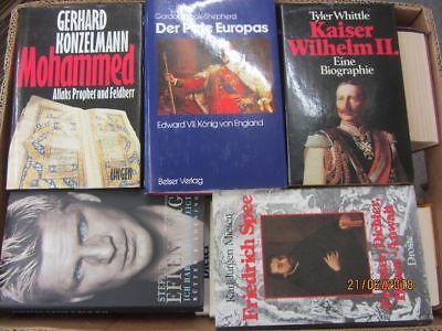 36 Bücher Biografie Biographie Memoiren Autobiografie Lebenserinnerung