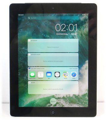 Apple iPad 4 WLAN WiFi only 16GB Retina Tablet-PC schwarz-silber