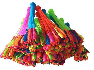 Magic Ballons Wasserbomben 1110 Stück mit Adapter = 111 St 2,00 € Wasserballons