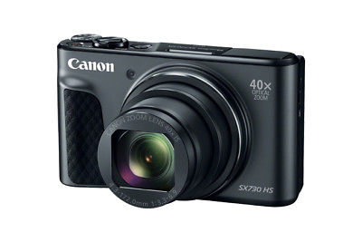 Canon SX730 HS Digitalkamera Schwarz Powershot Full HD 40x opt.Zoom 20.3 MP