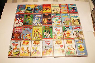 Walt Disney 8 MC Hörspiel Kassetten aus Liste aussuchen Arielle, Nemo, Dumbo..