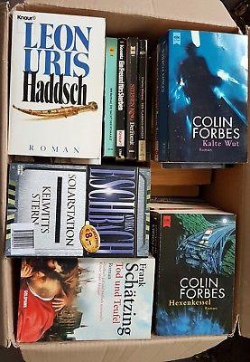 Krimi Thriller- 65 Bücher - Buchpaket Bücherpaket Buchsammlung