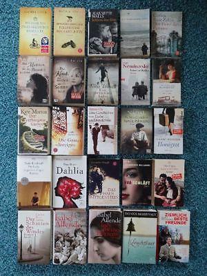 Paket 25 Bücher Top Romane Bestseller: Fulvio Joyce Münzer Morton Zafón Allende