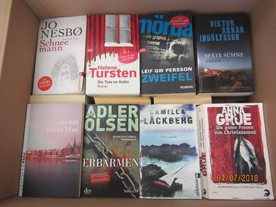 57 Bücher Romane skandinavische  Krimi Thriller Psychothriller  Top Titel