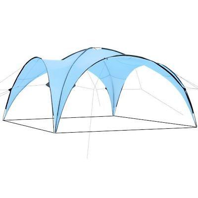 Event Pavillon Shelter Tent 4,50 x 4,50 m Partyzelt Sonnenschutz CampFeuer
