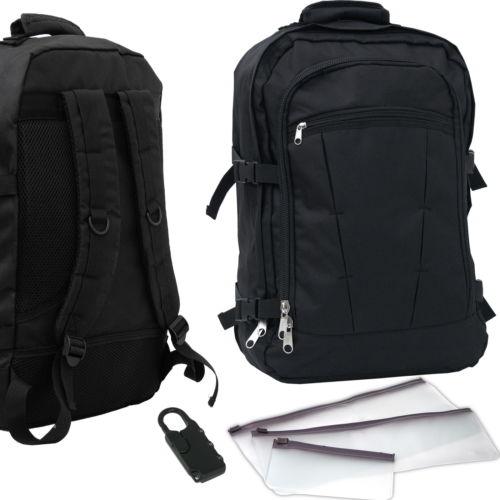 Handgepäck Rucksack Boardgepäck 44L Flugzeug Reisetasche Bordgepäck 55x40x20 cm