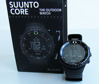 Suunto Core All Black Smartwatch Höhenmesser, Barometer Outdoor Sportuhr U2