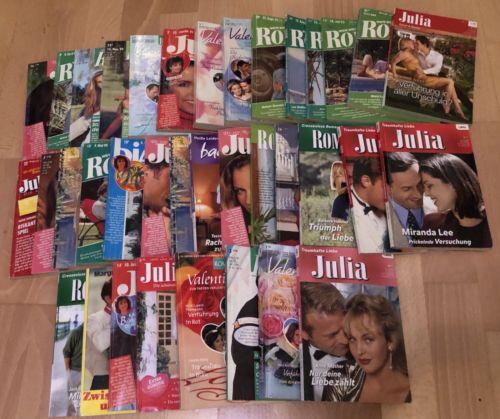 Cora Liebesromane im Paket 36 Stück