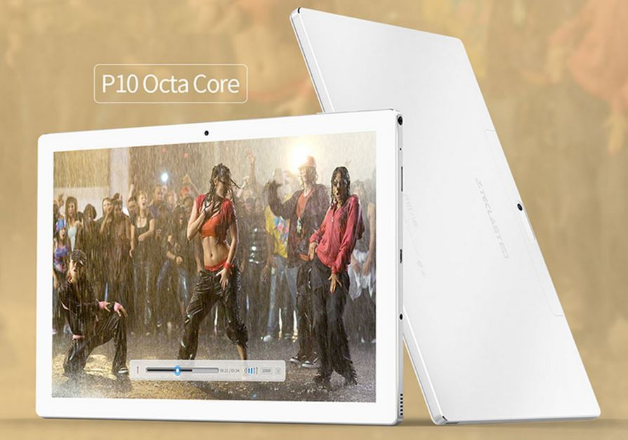 10.1 Tablet PC 32 GB Octa Core Android 7.1 - 1.5GHz - 2 GB Ram - Teclast P10