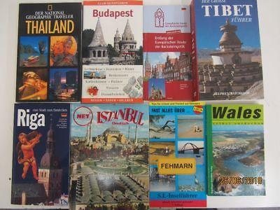 90 Bücher Reiseführer nationale und internationale Reiseführer