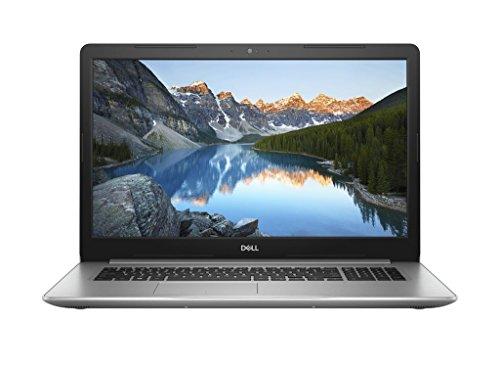 Dell Inspiron 17 5770 43,9 cm (17,3 Zoll FHD) Laptop(Intel Core i7-8550U, 1TB HDD + 128GB SSD, AMD Radeon 530 Graphics, DVD RW, Win 10 Home) Platin Silber