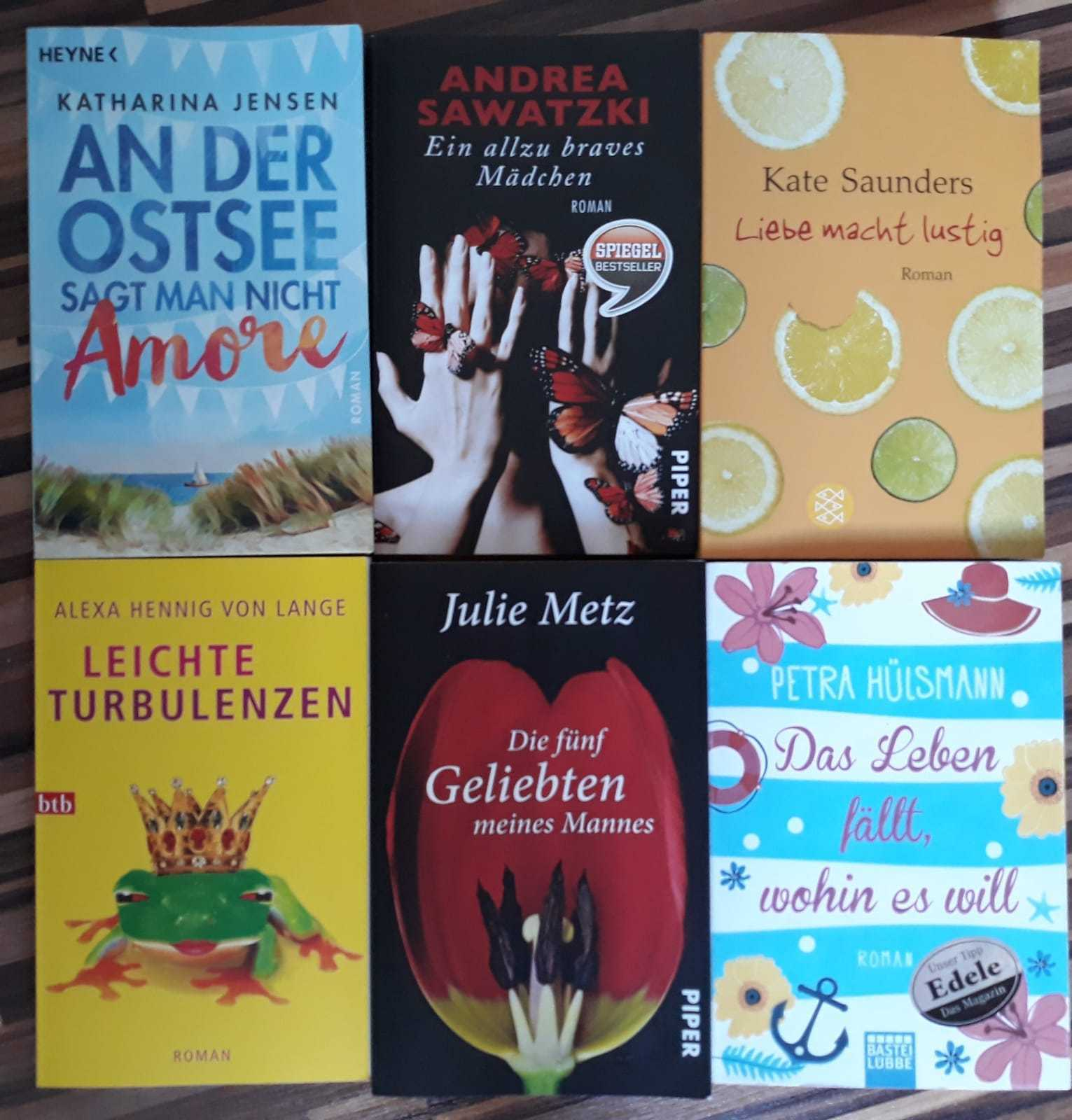 Bücher Sammlung Paket,  Frauenromane
