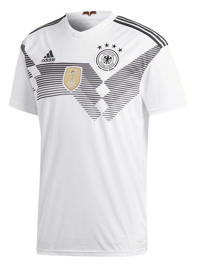 Adidas DFB Home Deutschland Heimtrikot Gr. L - Weiß WM 2018