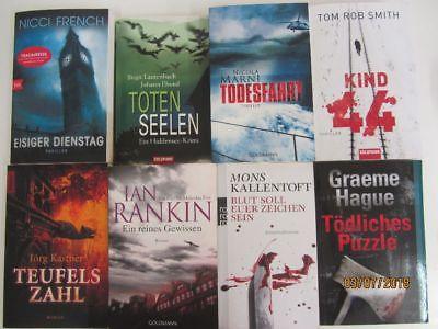 59 Bücher Romane Krimi Thriller Psychothriller  Top Titel Bestseller Paket 2