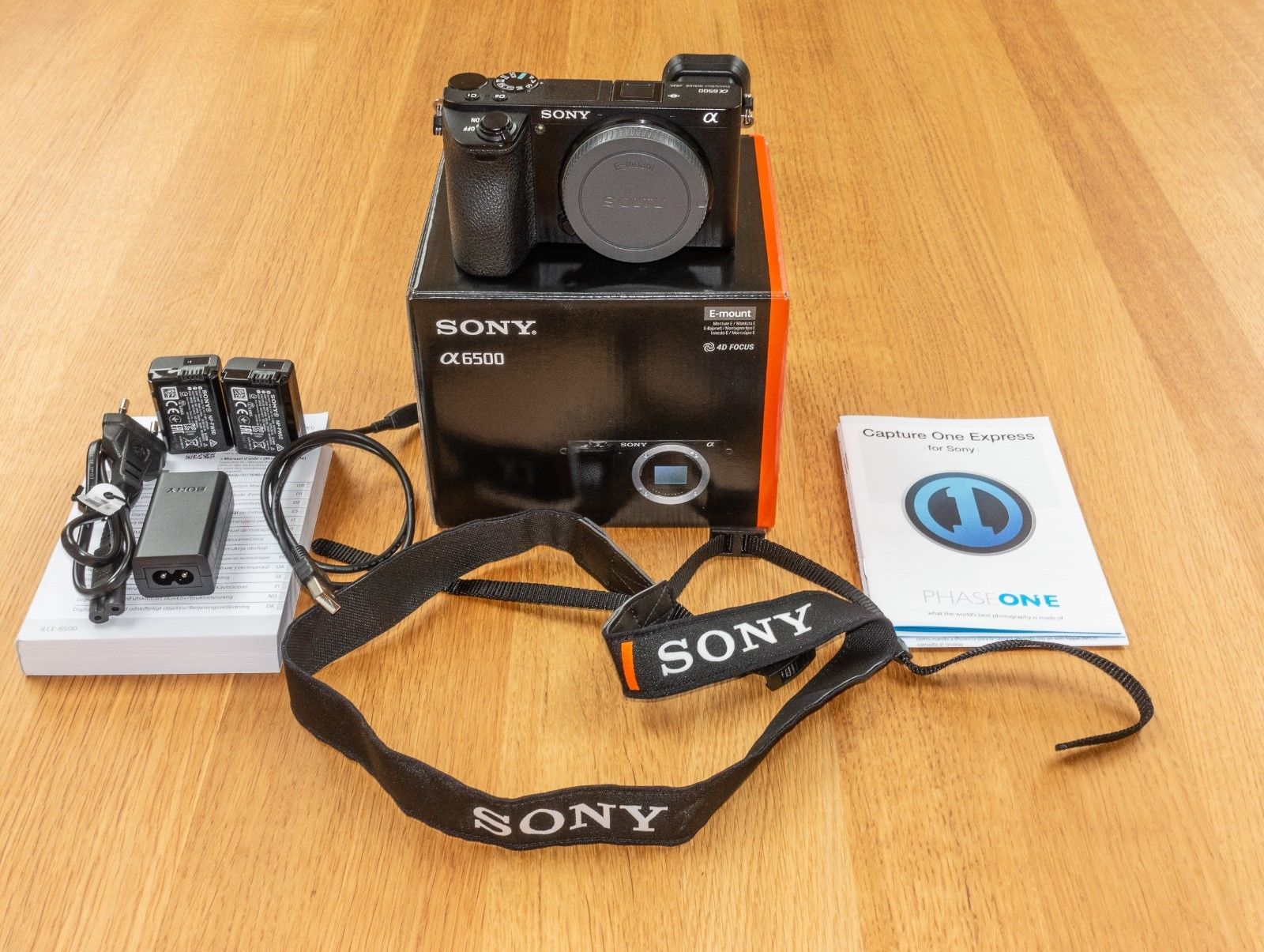 Sony A6500 (ILCE 6500) 24,2 MP Kamera in Originalverpackung