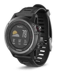 Garmin Fenix 3 HR GPS Multisportuhr - Schwarz/Silber