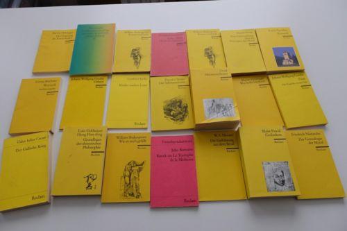 Buchpaket Reclam Verlag