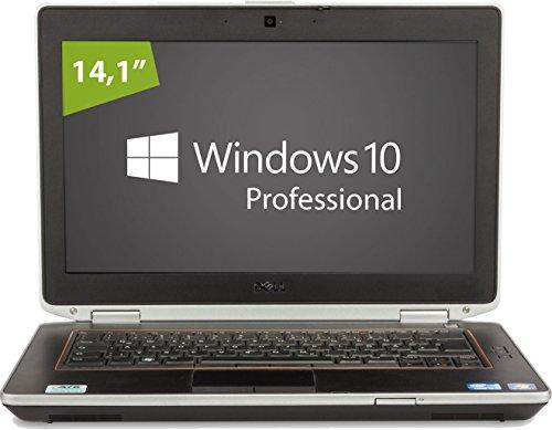 Dell Notebook | Latitude E6420 | Intel Core i5-2540M @ 2,6 GHz | 8GB DDR3 RAM | 250GB SSD | DVD-Brenner | Windows 10 Pro vorinstalliert (Zertifiziert und Generalüberholt)