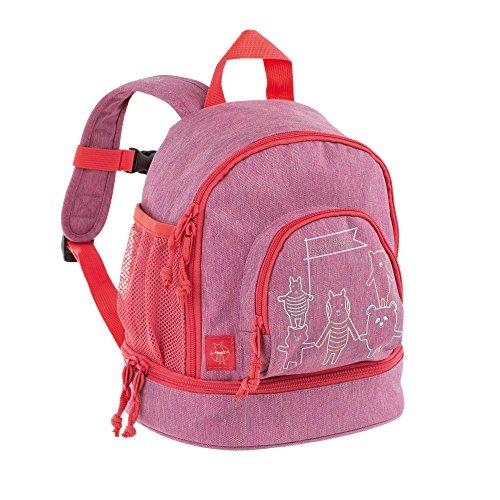Lässig Mini Backpack About Friends mélange Kinder-Rucksack, 27 cm, Pink