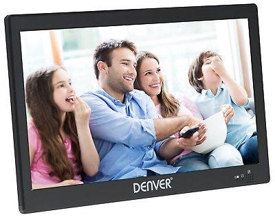 Denver 1031 tragbarer 10,1 Zoll LED TV Fernseher DVB-T2 USB Mediaplayer portabel