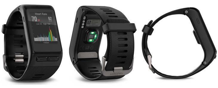 Garmin Vivoactive HR Sportuhr neu und unbenutzt inclusive. Wechselarmbänder