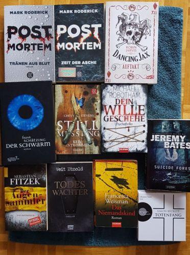 Bücherpaket Thriller/Krimis,