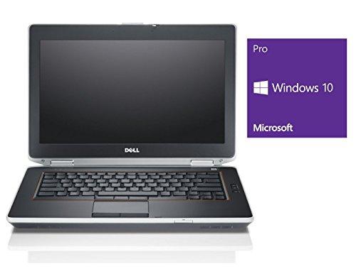 Dell Notebook | Latitude E6420 | 14.1 Zoll Display (1600 x 900) | Intel Core i7-2640M @ 2,8 GHz | 8GB DDR3 RAM | 250GB SSD | DVD-ROM | Windows 10 Pro vorinstalliert (Zertifiziert und Generalüberholt)