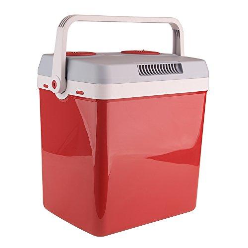 Auto Companion Elektrische Kühlbox, Kühlt und Wärmt, Tragbar, 32 l, 240 V Wechselstrom & 12 V
