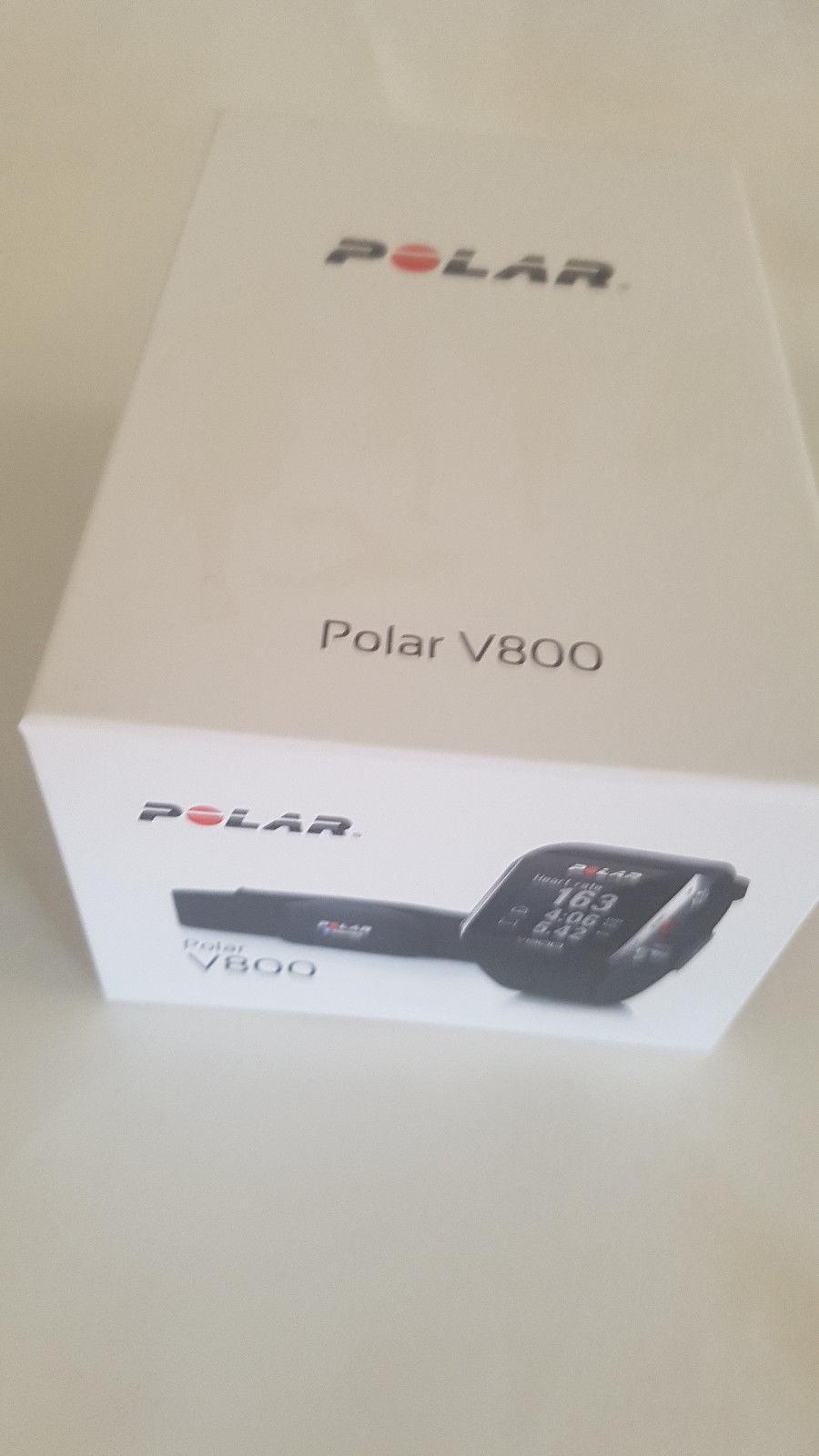 Polar V800 schwarz guter Zustand mit Zubehör