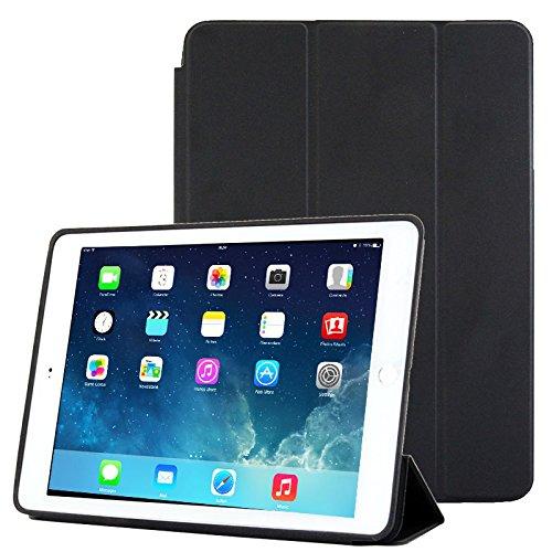 subtel Smart Case für iPad Air 2 Schutzhülle Tasche Flip Cover Case Etui Schwarz
