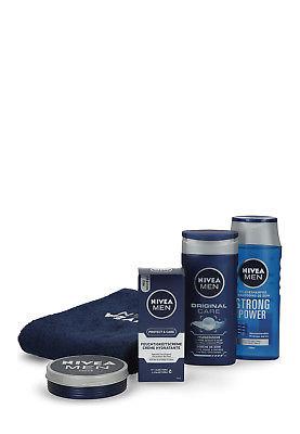Nivea Geschenk-Set For Men 4-teilig mit Handtuch