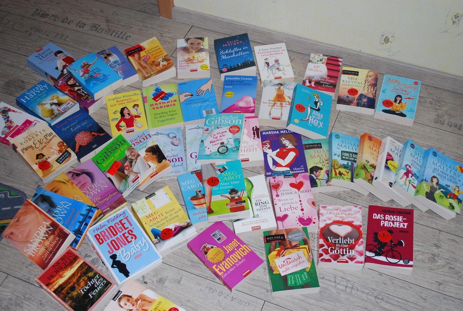 Romane 50 Taschenbücher*****guter Zustand******Frauenromane****TOP