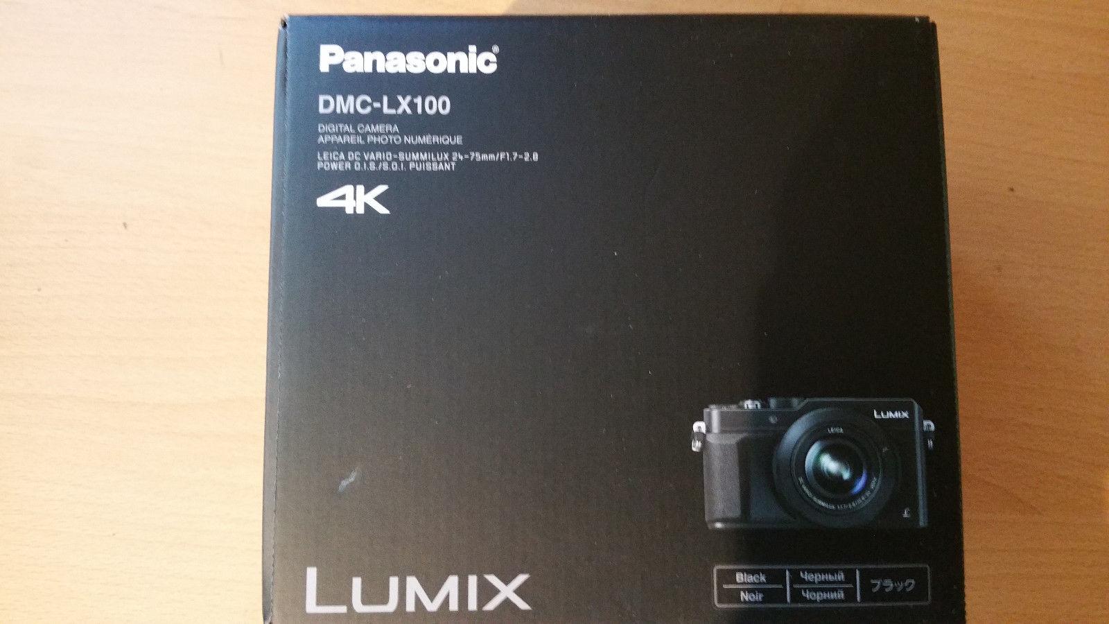 Panasonic LUMIX DMC-LX 100 16.8 MP Digitalkamera - Schwarz