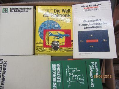 46 Bücher Elektrik Elektonik Elektrotechnik elektotechnische Grundlagen