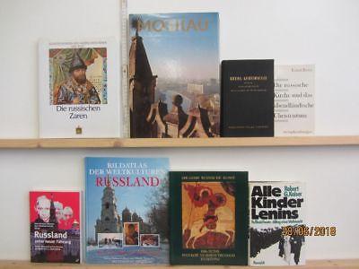 35 Bücher Russland russische Geschichte russische Städte Rußland