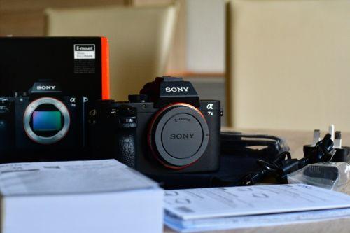 Sony Alpha ILCE-7M2 24.3 MP - Schwarz(Nur Gehäuse)*4 Monate alt*Wie Neu*Garantie