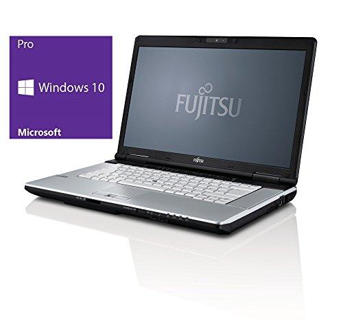 Fujitsu Notebook | Lifebook E751 | 15 Zoll Display | Intel Core i5-2430M @ 2,4 GHz | 4GB DDR3 RAM | 500GB HDD | DVD-Brenner | Windows 10 Pro vorinstalliert (Zertifiziert und Generalüberholt)