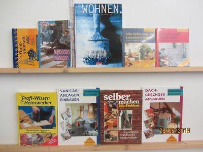 33 Bücher Bildbände Heimwerken Renovieren selber Machen Wohnideen Innenausbau