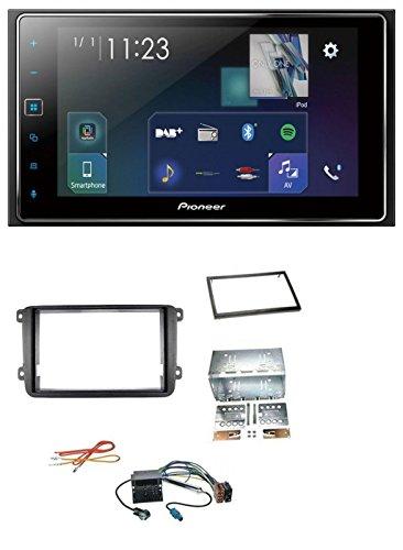 caraudio24 Pioneer SPH-DA130DAB MP3 DAB Bluetooth 2DIN USB Autoradio für VW Passat ab 05 Polo 09-14 Scirocco