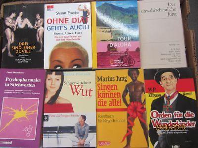 124 Bücher Taschenbücher verschiedene Verlage