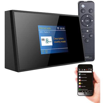 VR-Radio Digitaler WLAN-HiFi-Tuner mit Internetradio, DAB+, UKW, Fernbedienung