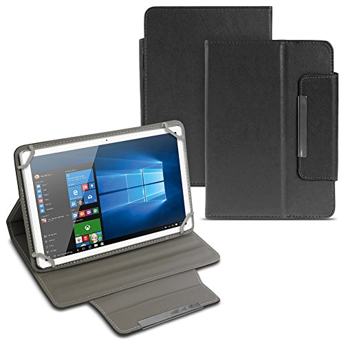 UC-Express MP Man MPQC1040i Tablet Tasche Hülle Schutzhülle Case Cover Tablettasche NAUCI, Farben:Schwarz