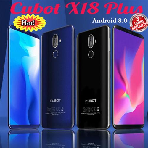 CUBOT X18 Plus 18:9 5.99