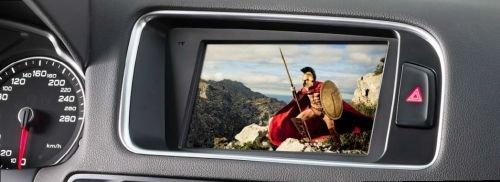 Alpine X701D-A 7-Zoll Display-Navigation für Audi A5 / A5 / Q5