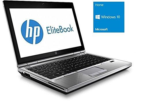 HP Notebook | Elitebook 8560p | 15.6 Zoll Display | Intel Core i5-2520M @ 2,5 GHz | 4GB DDR3 RAM | 500GB HDD | DVD-Brenner | Windows 10 Home vorinstalliert (Zertifiziert und Generalüberholt)