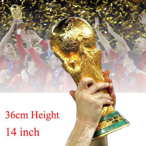 Weltmeisterschaft WM 2018 (Russland) Trophäen-Replik 36CM 1.8KG Geschenk 1:1Neu