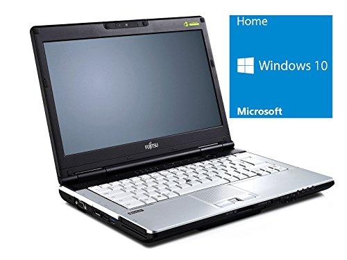 Fujitsu Lifebook S751 Notebook | 14 Zoll Display | Intel Core i5-2520M @ 2,5 GHz | 4GB DDR3 RAM | 500GB HDD | DVD-Brenner | Windows 10 Home vorinstalliert (Zertifiziert und Generalüberholt)
