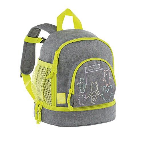 Lässig Mini Backpack About Friends mélange Kinder-Rucksack, 27 cm, Grey