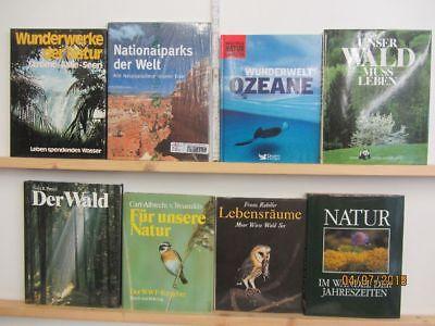 18 Bücher Bildbände Natur Umwelt Umweltschutz Naturparadiese Naturoasen Paket 1