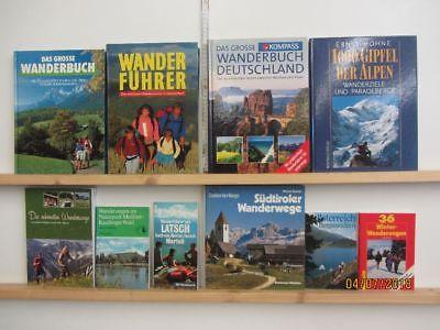 37 Bücher Wandern Wanderrouten Trekking Radwandern Fernwandern Wanderungen